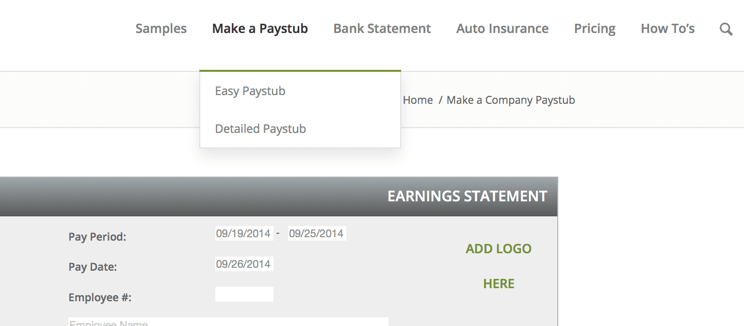 Ford Pay Stubs >> Paycheck Stubs For Car Loan.html   Autos Post